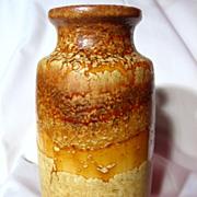 Retro 1970's Scheurich Fat Lava Model 213-20 Vase
