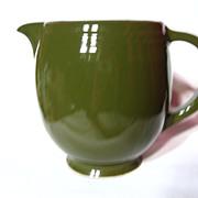 Hall China Green 5 Band 1 1/2 Pint Jug