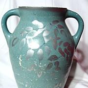 """Brentleigh Ware """"Etruscan"""" Double Handle Floor Vase"""