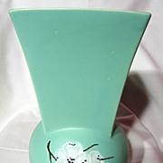 Vintage McCoy Spring Wood Dogwood Vase