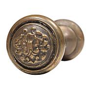 "Superb Antique ""Fenmore"" Bronze Doorknob Sets by Reading, c.1905"