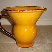 Old French pitcher from Alsace circa 1900