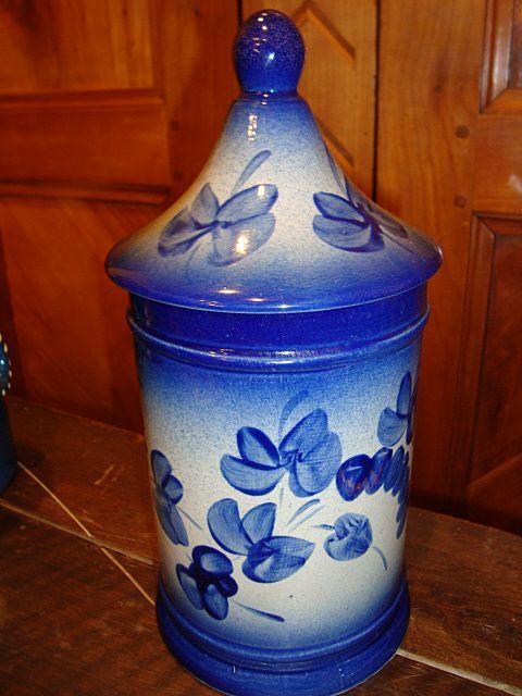 French stoneware Apothecary pot