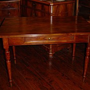 French walnut Louis Philippe table circa 1850