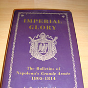 Imperial Glory book in hardcover with original signature author
