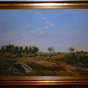 Authentic Painting, Oil on canvas by Axel HAIM