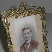 Antique Gilt Photograph Frame c. 1880