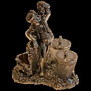 Fabulous Figural Wine Related Cruet Set - Registered 1871