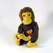 """Near mint vintage Schuco """"Tricky"""" Yes/No monkey toy 13"""""""