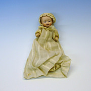 Vintage Nippon bisque head all original baby doll