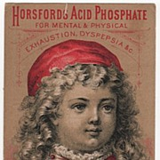 Horsford's Acid Phosphate for Dyspepsia R & S E Weld