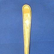 San Francisco CA Sterling Silver Souvenir Spoon