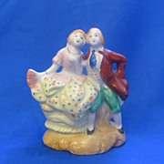 Colonial Couple Dancing Made in Occupied Japan Figurine