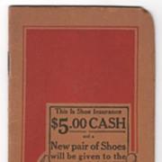 Friedman-Shelby International Shoe Co Red Goose Shoes Pocket Notebook