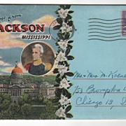 Souvenir Folder of Jackson MS Mississippi