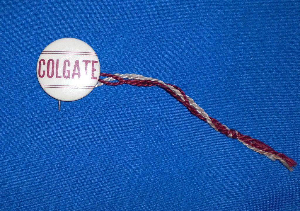 Colgate University Vintage Pinback Button
