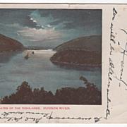 Northern Gates of Highlands Hudson River NY New York Vintage Postcard
