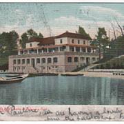 Buffalo NY New York Casino at Delaware Park Vintage Postcard