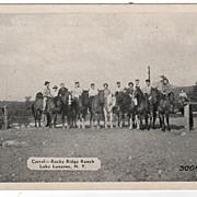 Corral Rocky Ridge Ranch Lake Lucerne New York NY PC