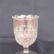 EAPG Early American Pattern Glass Honeycomb Spooner