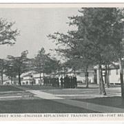 Street Scene - Engineer Replacement Training Center - Fort Belvoir VA Virginia Postcard