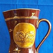 Royal Doulton Fox and Hounds Brown Pitcher