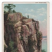 DPC The Hudson River Palisades New York NY Postcard