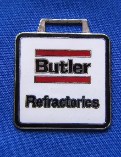Butler Refractories Advertising Watch Fob