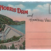 Souvenir Folder of Norris Dam and the Tennessee Valley