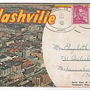 Souvenir Folder of Nashville Tennessee