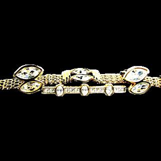 SALE Early Swarovski S.A.L. Mark Demi Parure Bracelet, Earrings and Brooch
