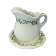 Small Pitcher Creamer and Bottom Dish Lamberton China