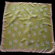 Vera  Sunflower Pink and Yellow Scarf