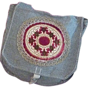 One of a Kind Mail Sack Pouch Purse
