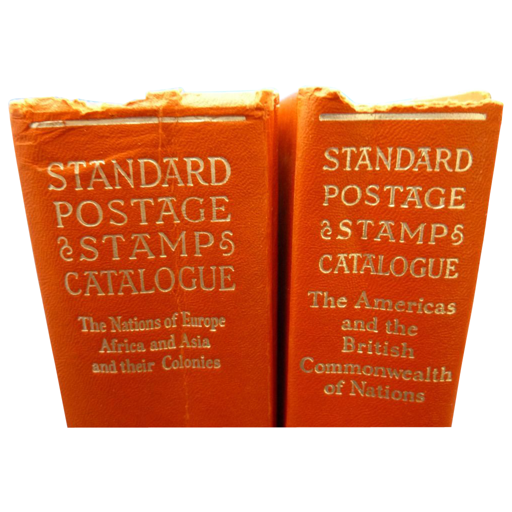 Set  of 1960 Standard Postage Stamp Catalogue Books