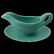 Franciscan El Patio Gloss Aqua Gravy Bowl  / Tray