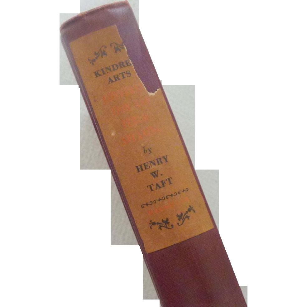 Kindred Arts – Conversation & Public Speaking 1929 Book