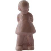 Pink Shy Girl Ceramic Pottery Planter