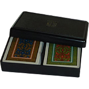 Kem Plastic Playing Cards Arabesque Pattern