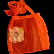 Chiffon Sheer Red Santa Apron