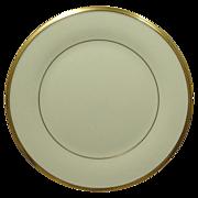 Lenox China Pattern Eternal Gold Trim Salad Plate