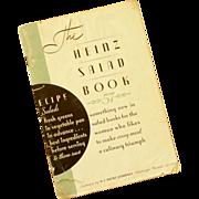 Heinz Salad Book Soft Cover Mid –Century
