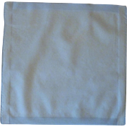 Light Blue Cotton Handkerchief