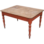 Early Pine Centre Table