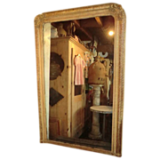 French Overmantel Mirror