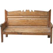 Pine Bench Seat from Spain.