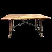 Spanish Refectory Table  c.1890