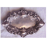 Unger Sterling Victorian Griffin Pin Tray