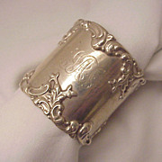 Frank M. Whiting Co. Sterling Napkin Ring # 390 - Dated 1902