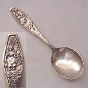"Weidlich Sterling Spoon Co. ""Little Dutch Milk Maid"" Baby Spoon - Circa 1920"